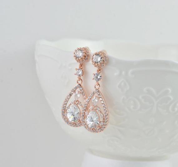 wedding earrings studs