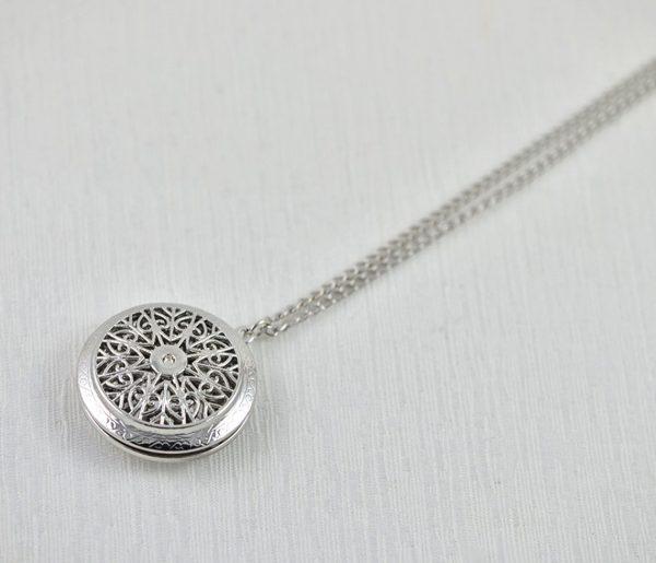 lava stone diffuser necklace essential oil jewellery australia